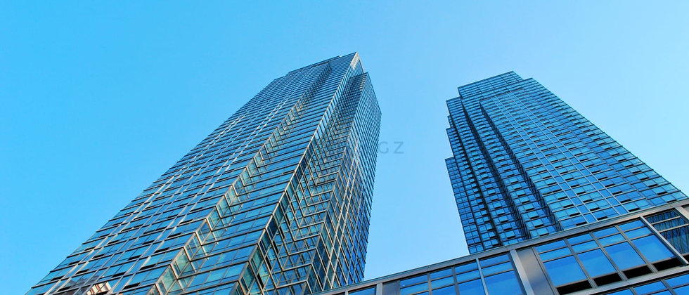 Highrise towers in downtown Manhattan