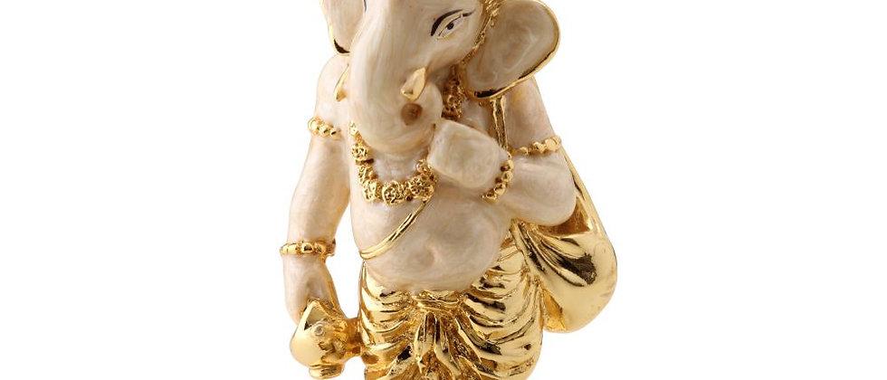 Pearl White Waman Ganesha