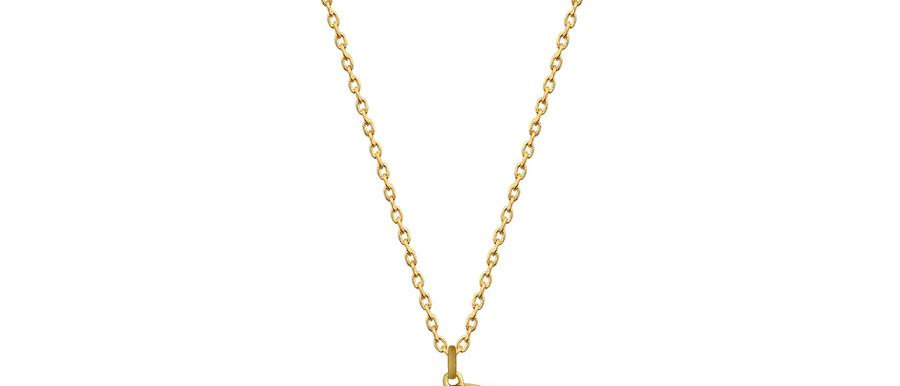 The Little Mermaid Ursula Necklace - 14ct gold plated