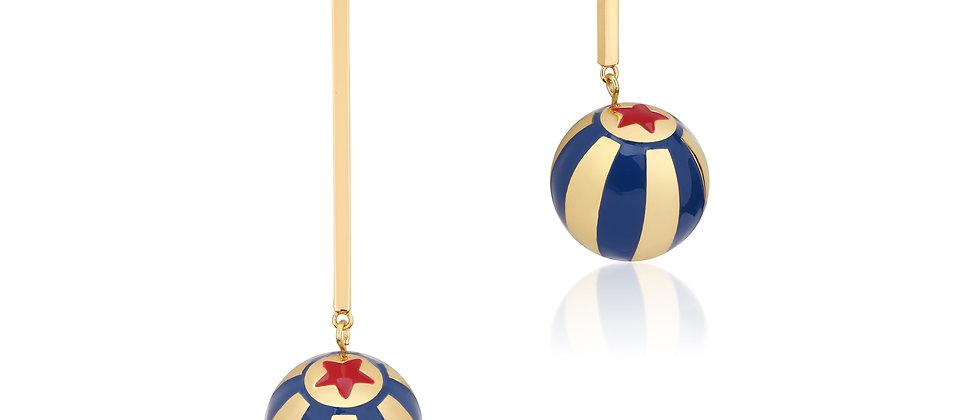 Disney Dumbo Circus Ball Drop Earrings
