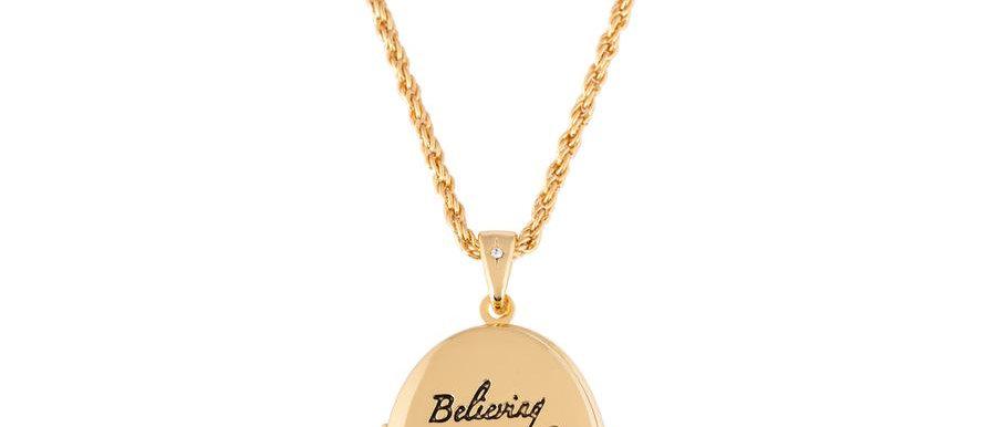'Believing is just the beginning' - Disney Tinkerbell Locket