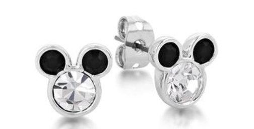 Disney Minnie Mouse Crystal Stud Earrings