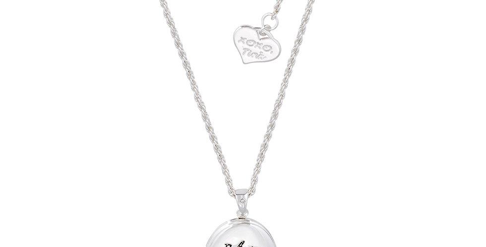 'Beleiving is just the beginning' - Disney Tinkerbell necklace