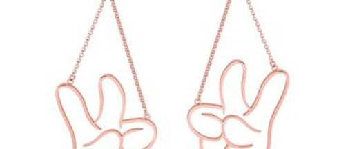Disney Mickey Mouse Glove Drop Earrings
