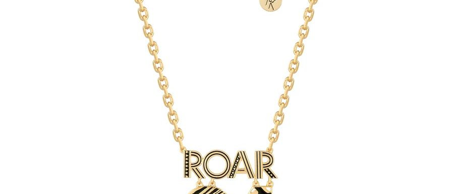 14ct yellow gold plated Disney the lion king Roar 94 necklace