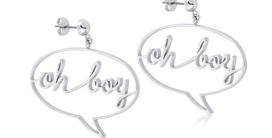 Disney Mickey Mouse 'Oh Boy ' Earrings