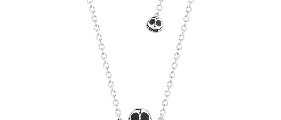 Halloween accessories - Tim Burton's The Nightmare before Christmas Gold plated Necklace