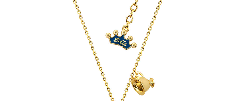 Disney Beauty and the Beast Mrs. Potts Necklace