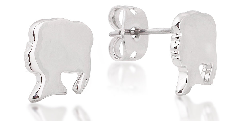 14ct gold plated Frozen Anna Stud earrings