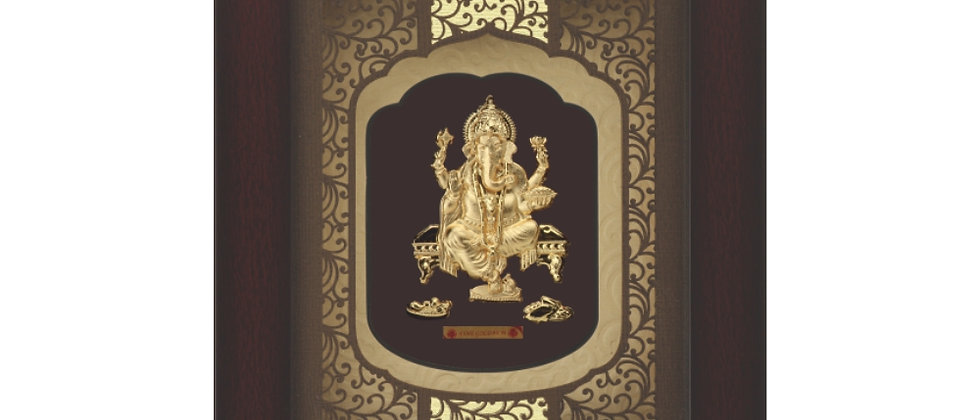 Solid Mini New Rosewood Carving Ganesh