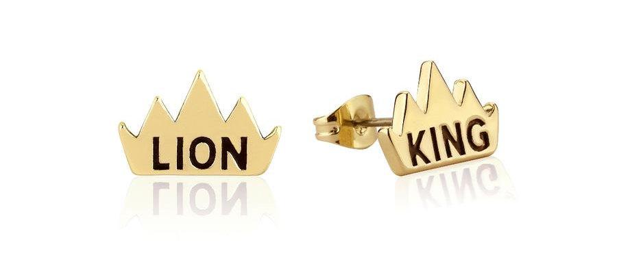 Disney The Lion King Crown Stud Earrings