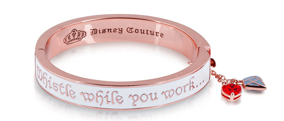 "Disney Snow White and the Seven Dwarfs ""Whistle while you work""Bangle"