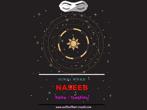 NASEEB - Is what i am seeing the ultimate truth?