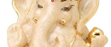 Pearl White Chanda Ganesha