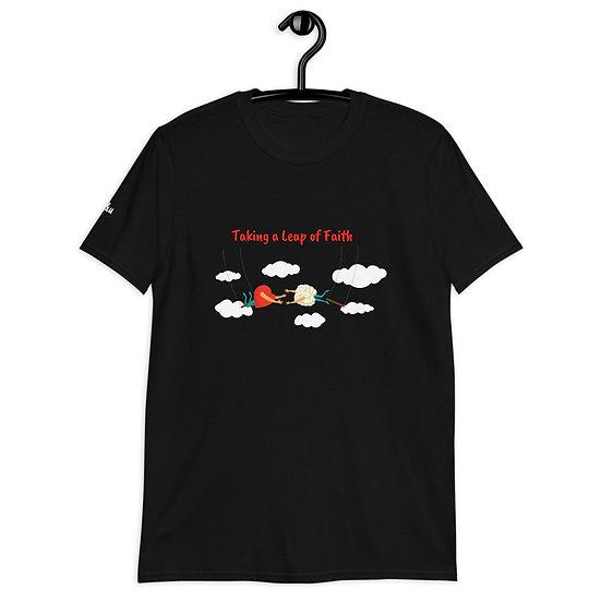 'Leap of Faith ' - Short-Sleeve Unisex T-Shirt