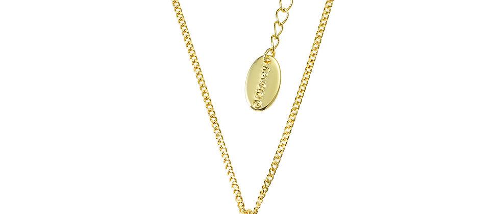14ct gold plated Disney Aladdin Princess Jasmine Necklace