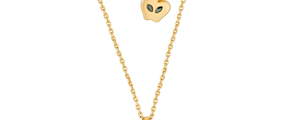 Disney Snow White Poison Apple Necklace