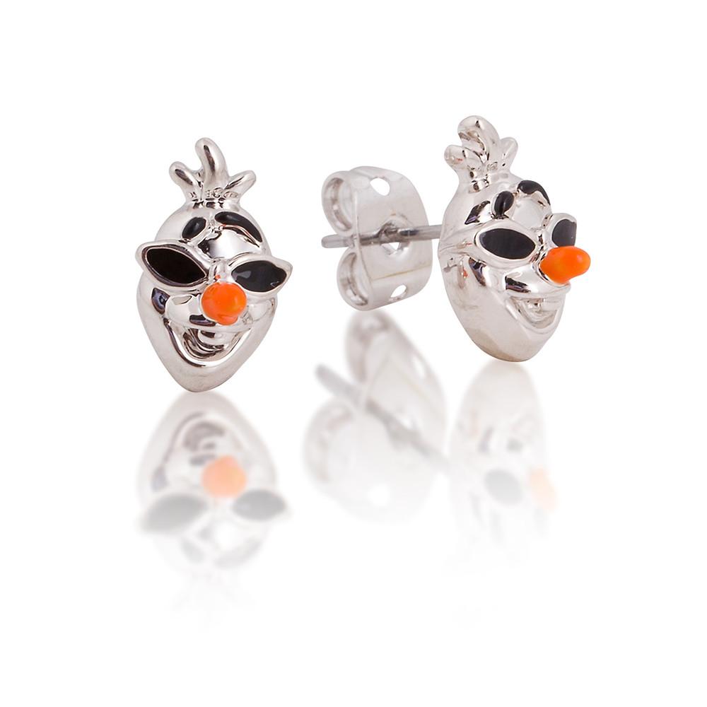 14ct gold plated Disney Frozen 2 Olaf stud earrings