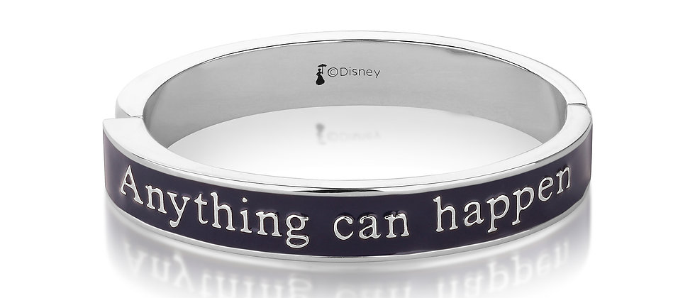 Mary Poppins 'Anything can happen if you let it' Bangle