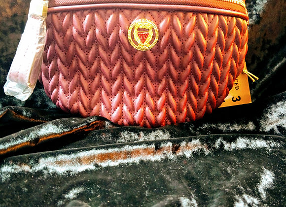 Wine Braided Qtr Fanny Pack