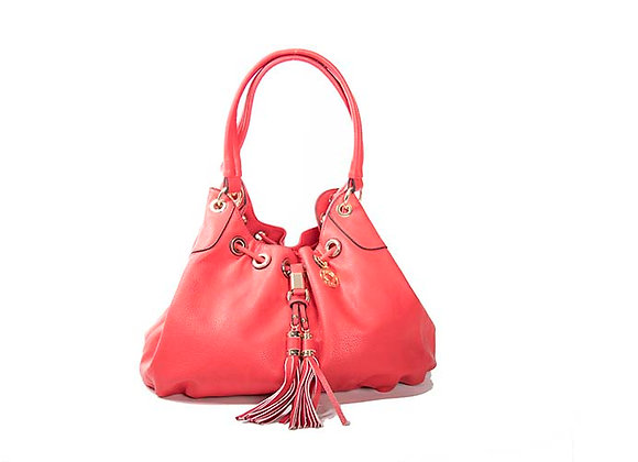 Red Slouch Satchel