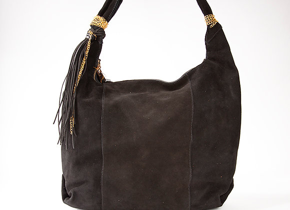 Black Gold Accent Hobo