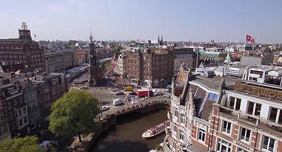 """Promotie flim gemaakt door """"Holland van boven"""" over rederij Vaartuig met hun Salonboot de Zavi in Amsterdam"""