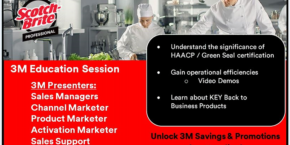 3M HACCP & Green Seal Education Session (2)