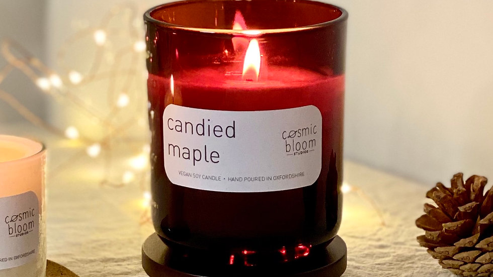 Candied Maple Candle - Large