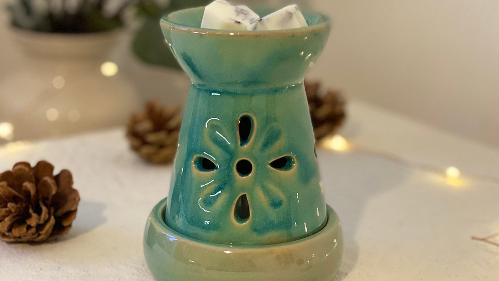 Moss Lighthouse Wax and Oil Burner