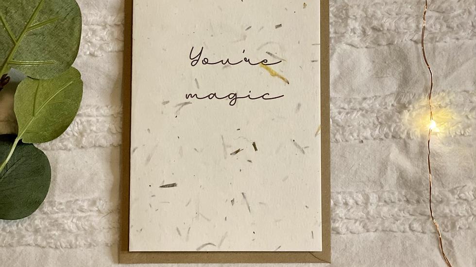 You're Magic Card