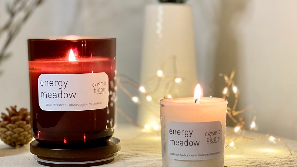 Energy Meadow Candle - Large