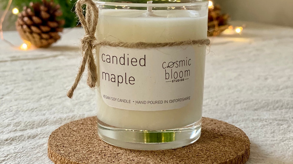 Candied Maple Candle - Mini