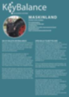 KeyBalance referencehistorie fra Carsten Lund medejer af Maskinland