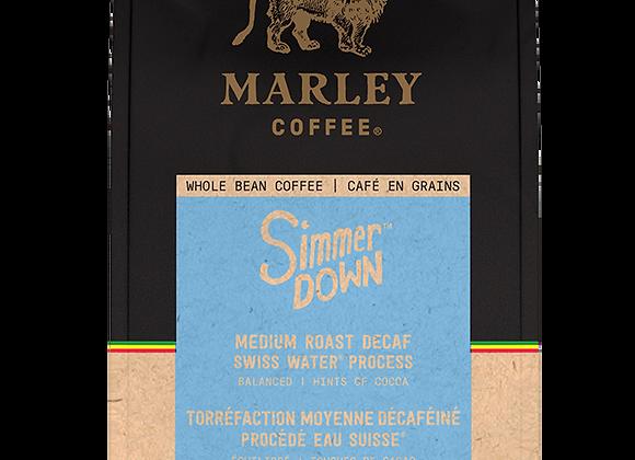 Marley Whole Bean Simmer Down DECAF