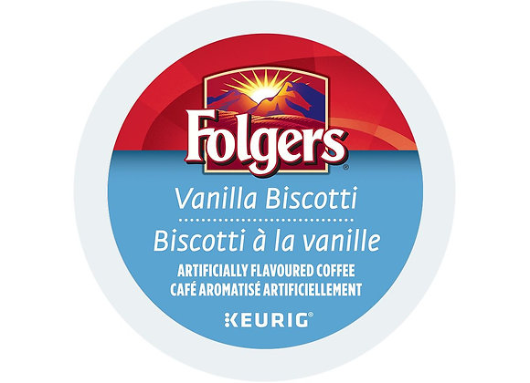 Folgers Vanilla Biscotti