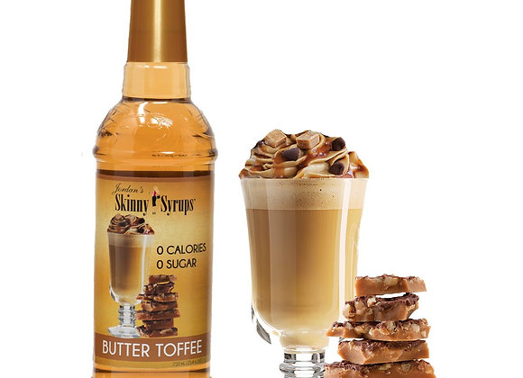 Skinny Syrup Butter Toffee