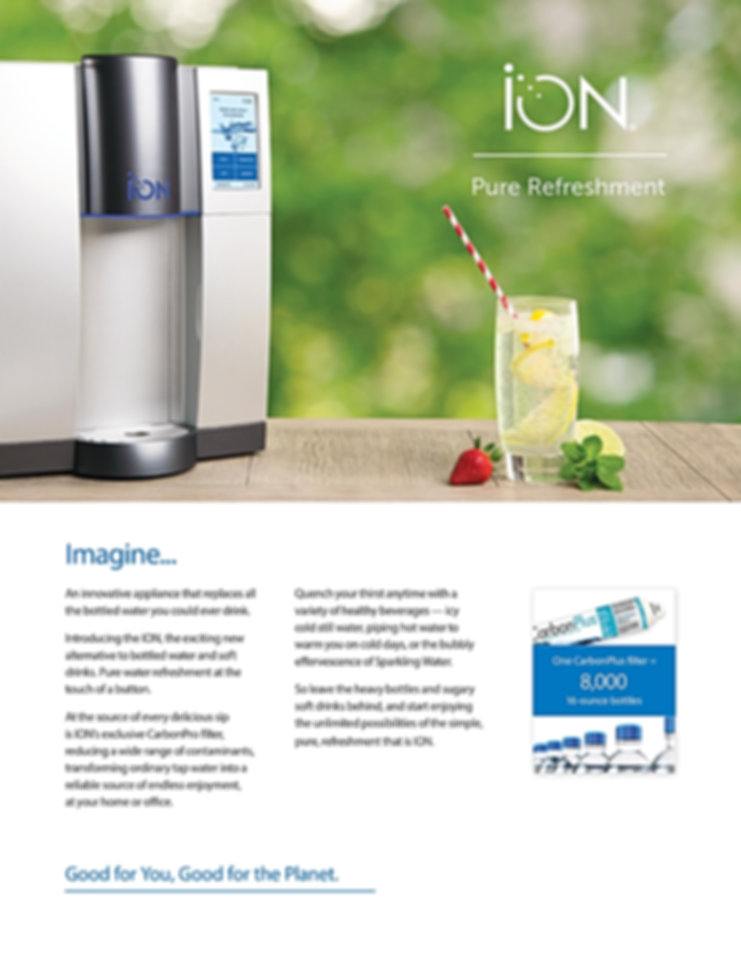 ION Water Systems an Alliance Coffee and Water