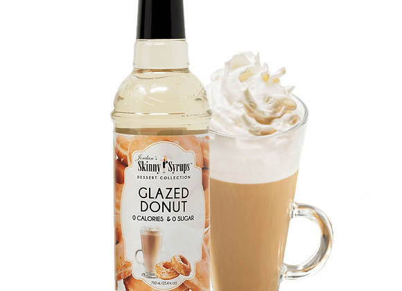 Skinny Syrup Glazed Donut