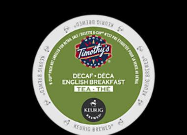 Timothy's English Breakfast DECAF