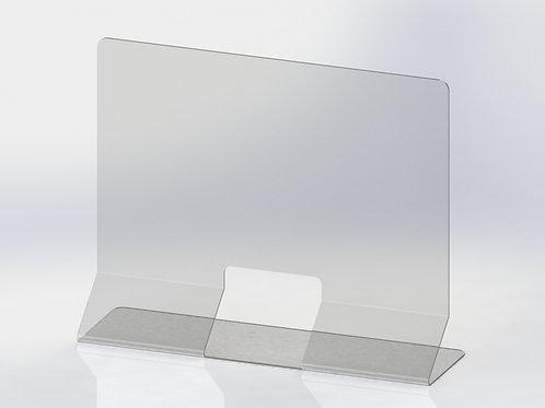 Panneau autoportant en acrylique plié