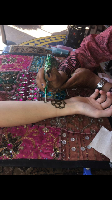 Henna tattoos in Morocco at Disney's EPCOT.