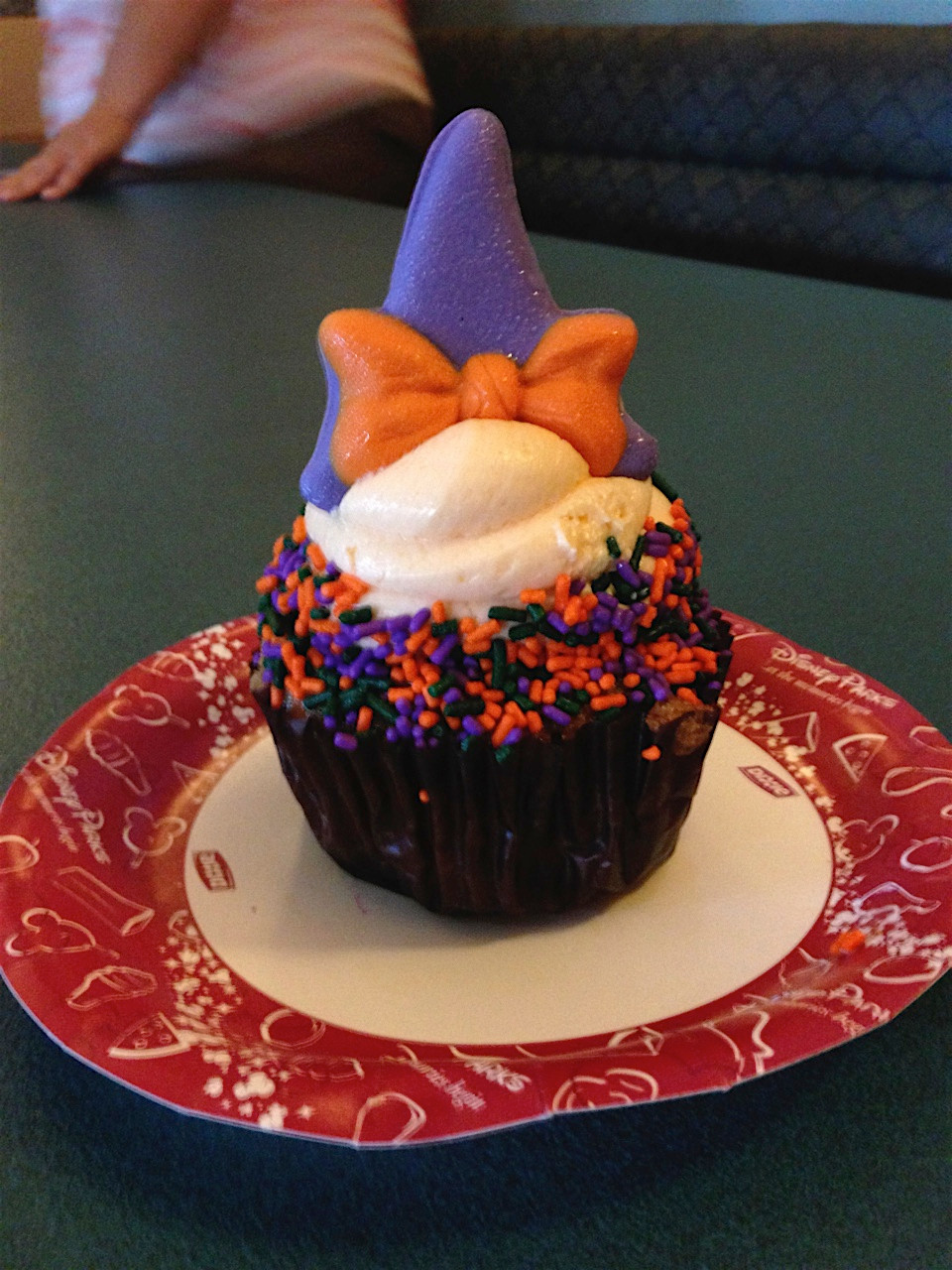 Halloween Minnie Cupcake