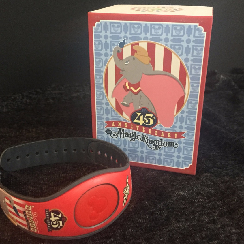 Special issue Magic Band for the 45th Anniversary of Magic Kingdom.