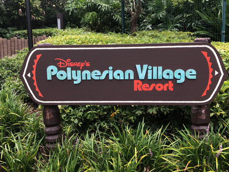 Aloha! from Disney's Polynesian Village Resort