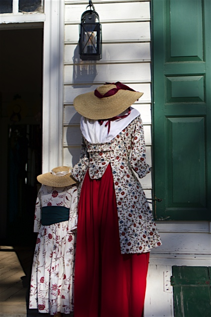 Visitors can purchase authentic gowns, hats and other accessories at the Mary Dickinson Shop.