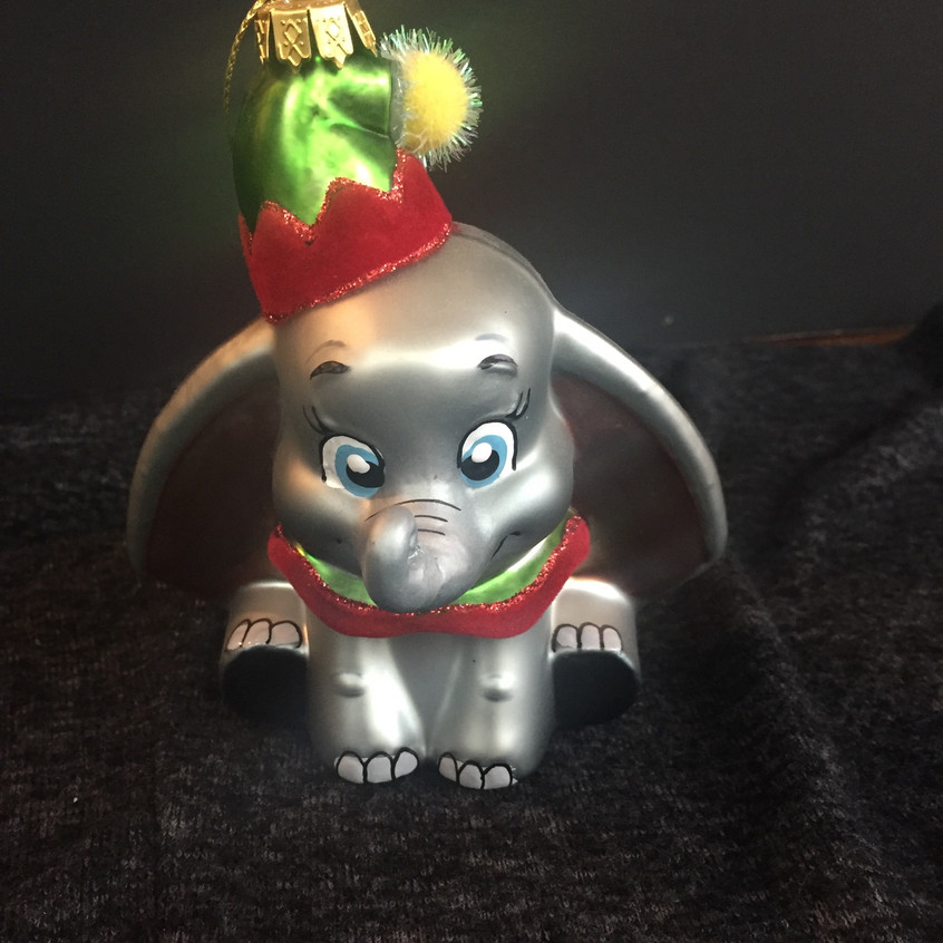 I can't wait to hang this on my Christmas tree - Dumbo!!