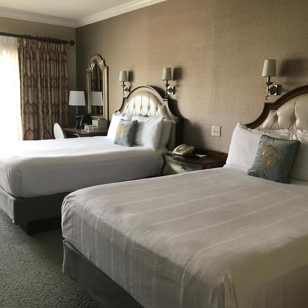 Two comfortable queen beds