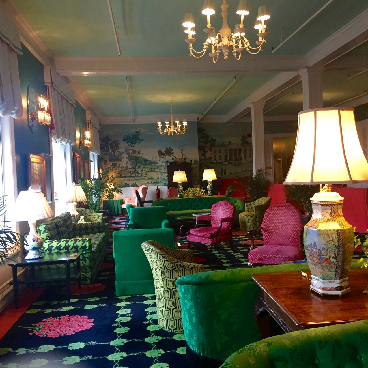The Parlor, The Grand Hotel