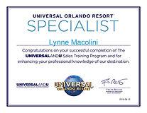Universal Certificate- Lynne - Aug 2019.